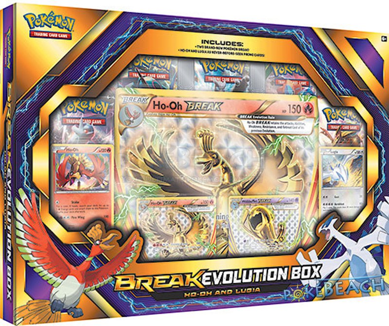 "Ecco L'immagine Del ""BREAK Evolution Box"" Con Lugia, Ho-Oh"