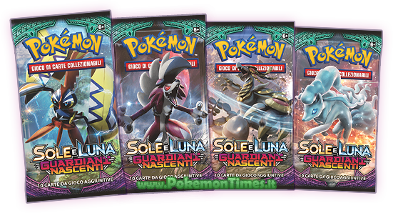 amazon box carte pokemon sole e luna guardiani nascenti