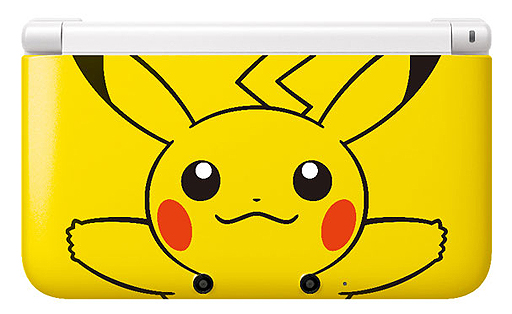 3DS XL Pikachu 0
