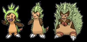 evoluzioni fake di Chespin