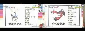Pokémon X e Y - Leggendari