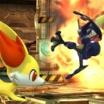 Fennekin e Greninja in Super Smash Bros. per WiiU
