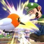 Fletchling e Luigi in Super Smash Bros. per WiiU