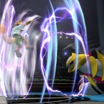 Giratina e Fox McCloud in Super Smash Bros. per WiiU