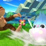 Inkay e Diddy Kong in Super Smash Bros. per WiiU