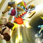 Keldeo, Donkey Kong e King Dedede in Super Smash Bros. per WiiU
