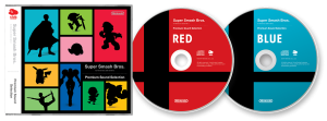 Super Smash Bros. Premium Sound Selection RED e Super Smash Bros. Premium Sound Selection BLUE