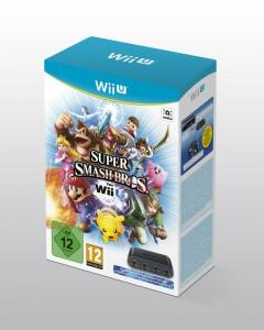 SSB per WiiU in bundle con l'adattatore dei controller GameCube