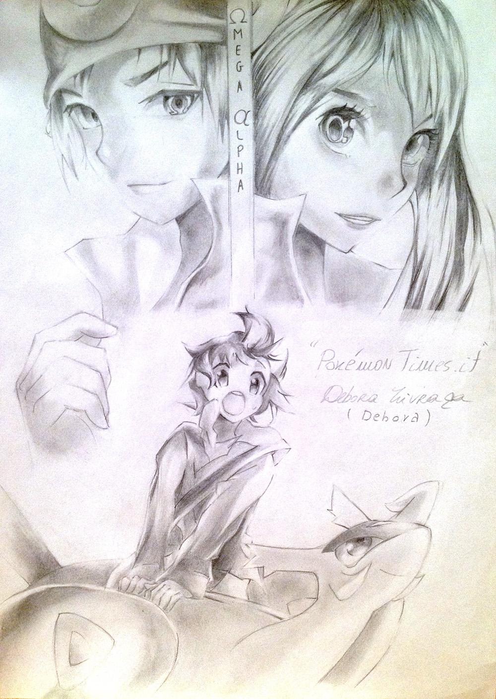 Debora Illustrazione Pokemontimes It Pokemon Times