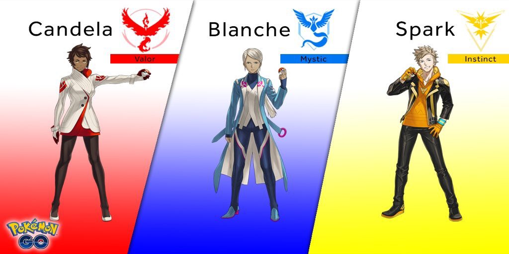 team_leaders_spark_blanche_candela_GO_pokemontimes-it