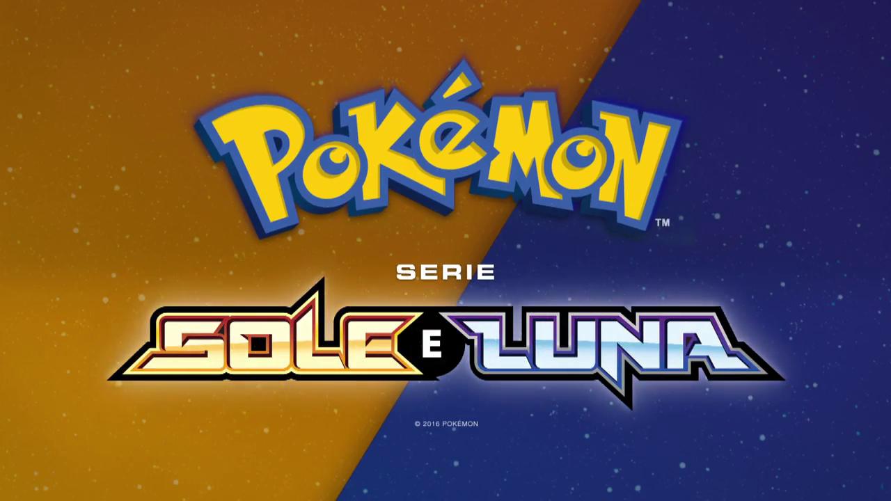 Logo Pokémon Serie Sole e Luna (Episodi inediti Pokémon Serie Sole e Luna)