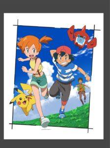 shuhei_yasuda_illustrazione_ufficiale_ash_misty_brock_pikachu_serie_sole_luna_pokemontimes-it