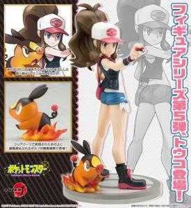 poster_modellino_figure_anita_tepig_kotobukiya_pokemontimes-it