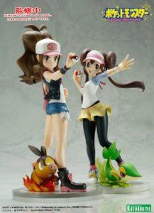 poster_modellino_figure_anita_tepig_rina_snivy_kotobukiya_pokemontimes-it