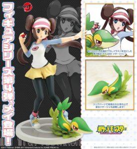 poster_modellino_figure_rina_snivy_kotobukiya_pokemontimes-it