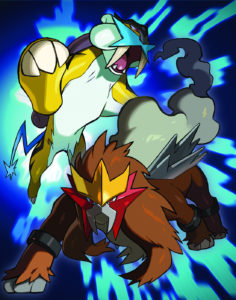 illustrazione_distribuzione_entei_raikou_ultra_sole_luna_pokemontimes-it