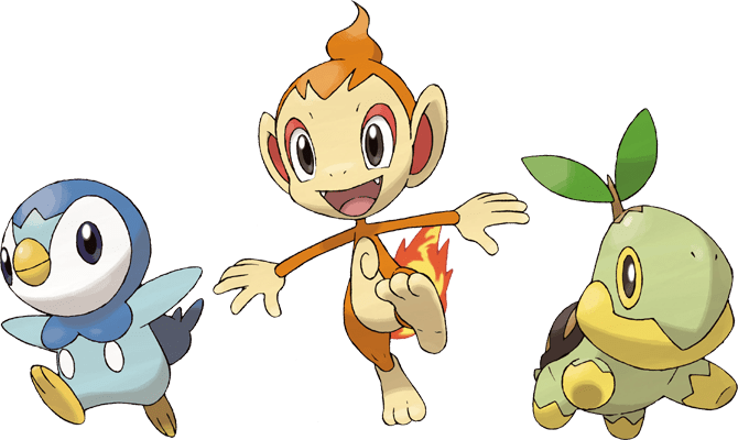 starters_sinnoh_quarta_generazione_piplup_chimchar_turtwig_pokemontimes-it