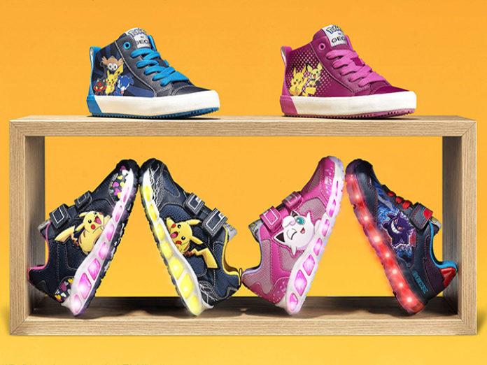 Arrivano le scarpe Pokémon di Geox! « Pokémon Times
