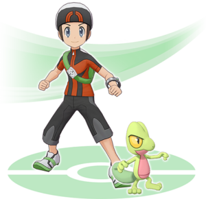 artwork_brendon_treecko_masters_videogiochi_app_pokemontimes-it