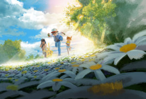 illustrazione_ash_misty_brock_03_mewtwo_evolution_film_pokemontimes-it