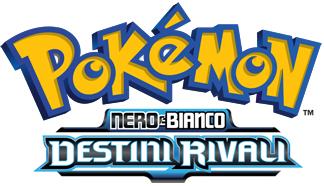 Logo Pokémon Nero e Bianco - Destini Rivali