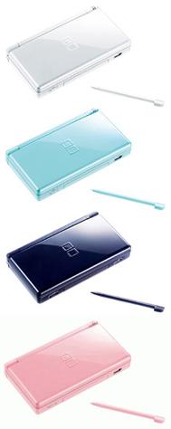 Nintendo DS Lite Colors