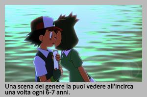 Bianca saluta Ash, in partenza da Alto Mare - Pokémon Heroes