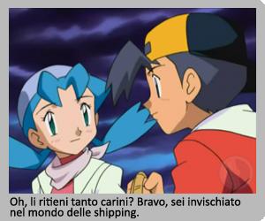 Jimmy e Marina in Pokémon Chronicles