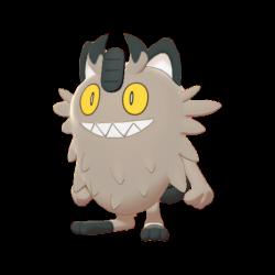 Meowth Forma di Galar